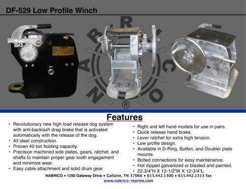 DF-529 Low Profile Winch 2