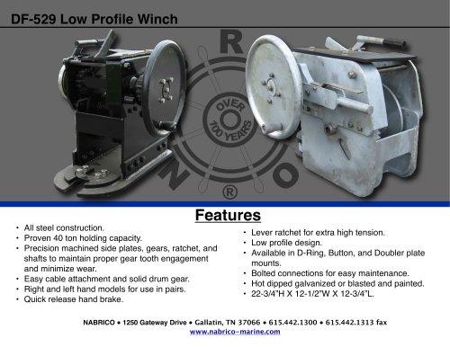 DF-529 Low Profile Winch