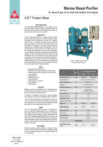 Marine Diesel Purifier