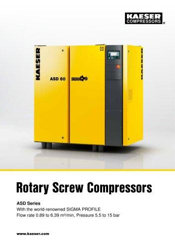 Rotary Screw Compressors ASD Series