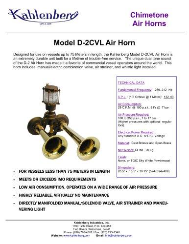 D-2CVL Air Horn