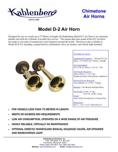 Model D-2 Air Horn