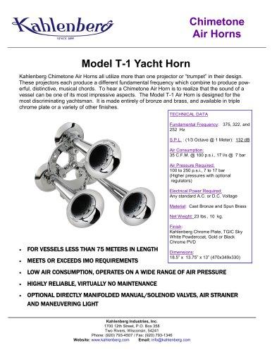 Model T-1 Yacht Horn