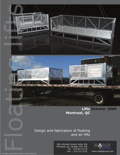 Samples aerial lifts