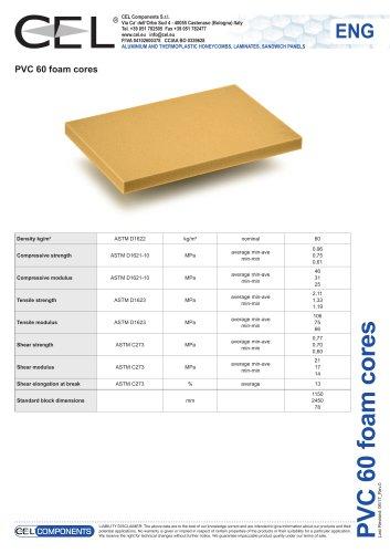 PVC foam 60