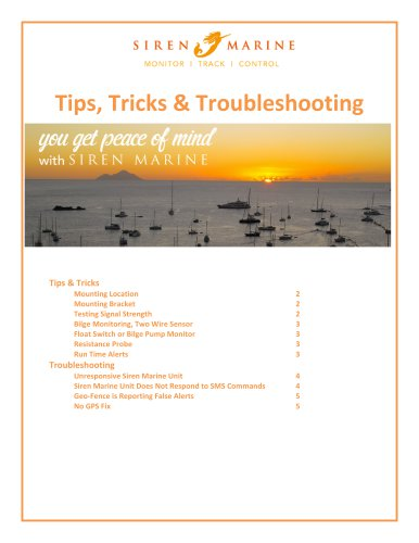Tips,Tricks&Troubleshooting