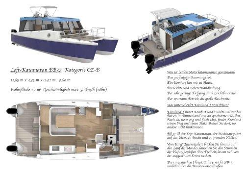 Loft-Katamaran BB37