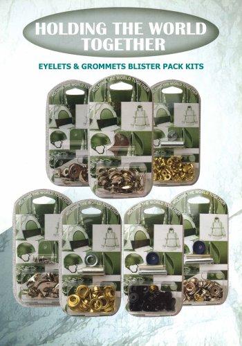 Eyelets & Grommet Blister Pack Kits