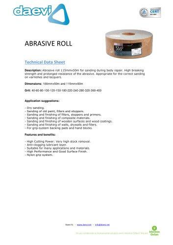 Abrasive Roll TSAR