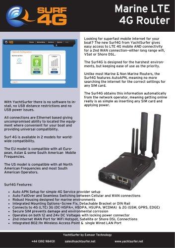 Marine LTE 4G Router